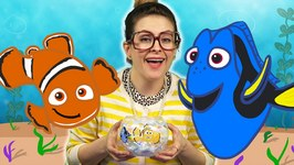 Finding Nemo DIY Fishbowl Night Light Craft - Arts and Crafts with Crafty Carol at Cool School