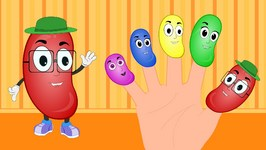 Jelly Bean Finger Family  Finger Family Songs  Finger Family