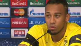 Aubameyang - I Don't Know Any Anderlecht Players