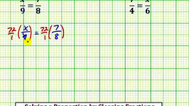Ex: Solve a Proportion by Clearing Fractions (x/ab/c, Fraction Solutions)