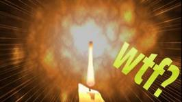 Scientific Tuesdays - Candle Wax Explosion