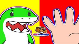 Finger Family Sharks Fun Childrens Song Surprise Eggs Catchy