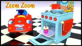 Make MUFFIN CAKES - Zeem Zoom Cartoons For Children