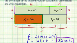 Problem Solving with Area and Perimeter of Rectangles (Version 1)