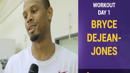 Lakers Pre-Draft Workouts -  Bryce Dejean-Jones