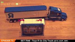 LEGO 7848 - LEGO City Toys R Us City Truck Review