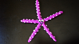 Starfish Play-Doh