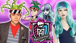 Monster High Dress Up for Celebs-Harry Styles and Taylor Swift Get Ghoulish