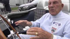 Sir Stirling Moss meets Lewis Hamilton - Mille Miglia - Interview Stirling Moss