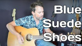 Blue Suede Shoes - Guitar Lesson - Elvis Presley - Beginner Guitar Lesson