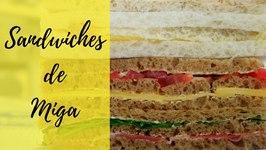 Sandwiches de Miga taste test in Buenos Aires, Argentina