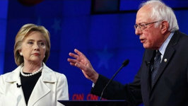 Bernie & Hillary Debate Gets Hot in Brooklyn