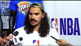 Steven adams on inclusion of paul george in OKC
