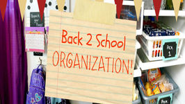 Back To School Organization - Backpack Station And School Lunches