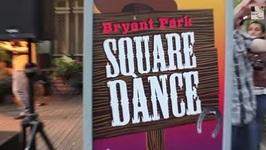 New York City - Bryant Park Square Dance