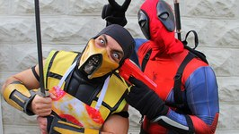 Scorpion and Deadpool Make PIZZA - Cooking With Scorpion