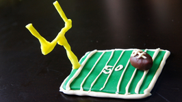 Play Dough Football And Football Field