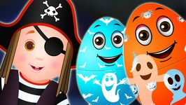 Halloween Surprise Eggs  Halloween Trick Or Treat Costumes  Spooky Halloween Surprise  ChuChuTV