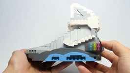 LEGO Back to the Future 2 Nike Air Mags Showcase with Builder Tomyoo23