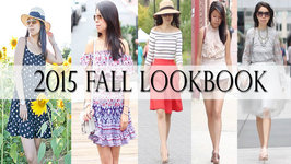 5 Outfit Styles for 2015 Fall-Autumn Lookbook - Summer to Fall Transition