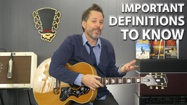 Definitions That All Guitar Players Must Know
