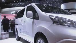 Nissan e-NV200 at Geneva Motor Show March 2014