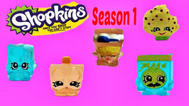 Season 1 Shopkins 12 Packs Review