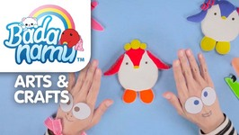 Badanamu Arts and Crafts Episode 11 - Fun with Clay 2! Make Jess, Curly, and Punk