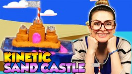 DIY Sand Castle with Kinetic Sand - Summer Craft - Arts and Crafts with Crafty Carol