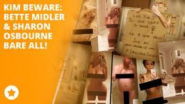 Bette Midler and Sharon Osbourne post own nude selfie
