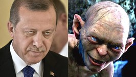 Turkish Man Facing Prison For Comparing President to Gollum