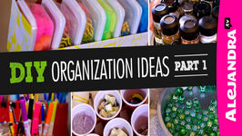 DIY Organization Ideas (Part 1)