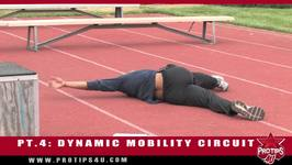 Track and Field Tips Active Warmup PT. 4 Muscle Activation Series - Dynamic Mobility Circuit with Bryan Clay