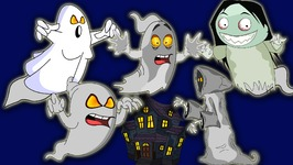Funny Ghost Finger Family Nursery Rhymes For Children - Devil Finger Family Rhymes