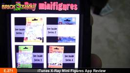 ITunes X-Ray LEGO Mini Figures App Review