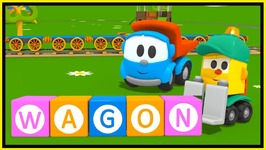 Leo And Lifty Learn Letters W  Kids Toy Trucks Cartoons  Learn The Alphabet