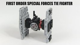 LEGO Star Wars The Force Awakens First Order Special Forces TIE Fighter Review - LEGO 30276