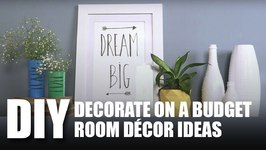 Mad Stuff With Rob - DIY Decorate On A Budget  Room Decor Ideas