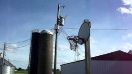 Farm Basketball Trick Shots