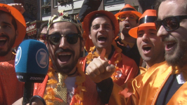 250,000 Turn Amsterdam All Orange For King's Day