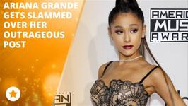 Ariana Grande receives backlash over her crazy claim
