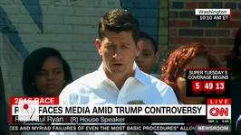 Paul Ryan Disavows Donald Trump Over Judge Controversy
