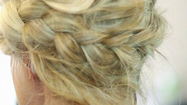 Deconstructed Milkmaid Braid