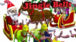 Jingle Bells Jingle Bells  3D Christmas Songs for Kids