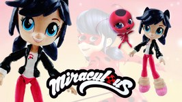 MARINETTE - Miraculous Ladybug And Cat Noir My Little Pony Custom Doll DIY From Equestria Girls Mini