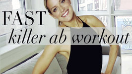 Fast Killer Ab Workout! Flat Belly Workout