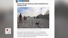 Human Remains Found on Rio's Olympic Beach