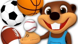 Kids Go Play - Busy Beavers Play with Sport Balls - Children's Outdoor Activities - Video for Toddlers