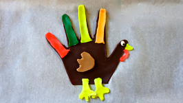 Playdough Turkey