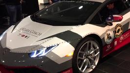 Lamborghini Huracan inside REVVING LOUD!!! At O Gara Coach San Diego GR 7 reception!
